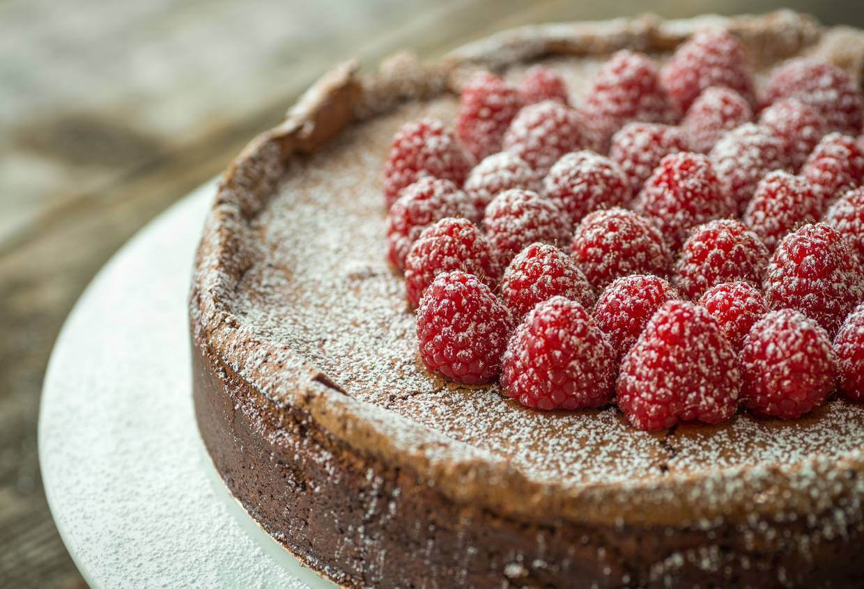 dessert, chocolate, flourless torte