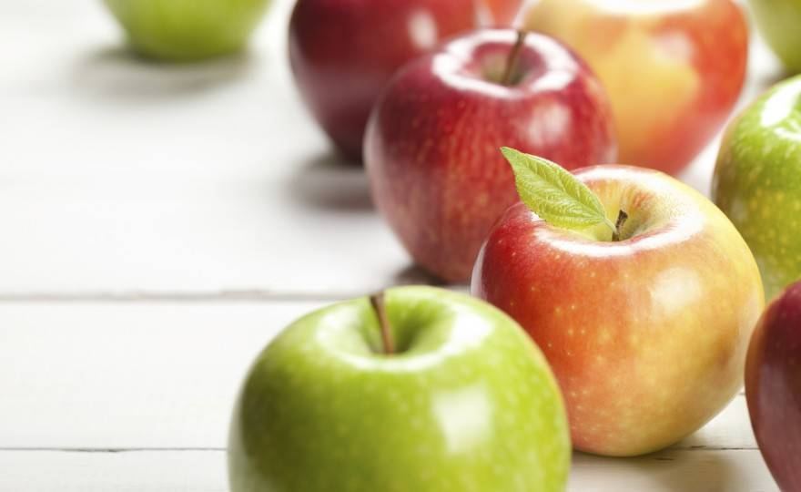 High Fiber, Healthy Apples