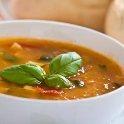 Zucchini & Tomato Soup