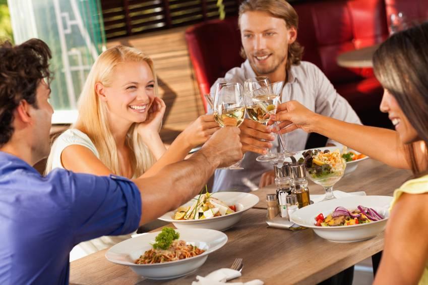 Dining at a Restaurant
