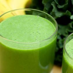 Great Tasting Green Smoothie with Banana Recipe