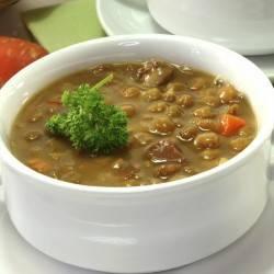 Lentil & Turkey Sausage Soup