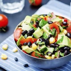 Southwest Salad with Cilantro Dressing
