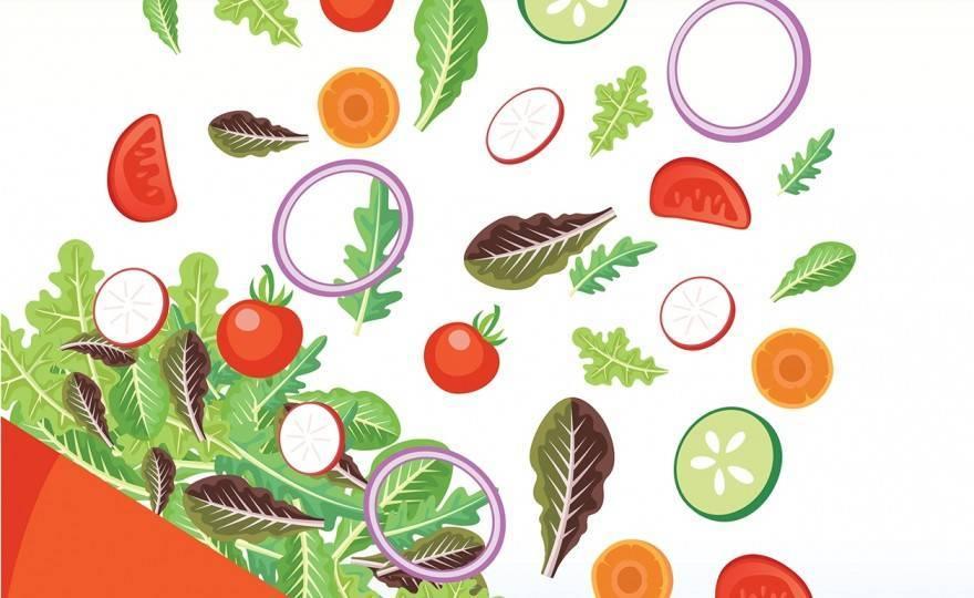 10 Healthy Salad Recipes by LeanBiotics.