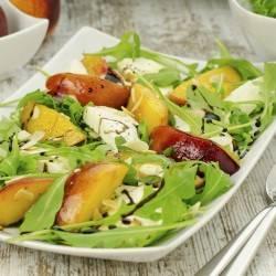 Arugula Salad with Peaches