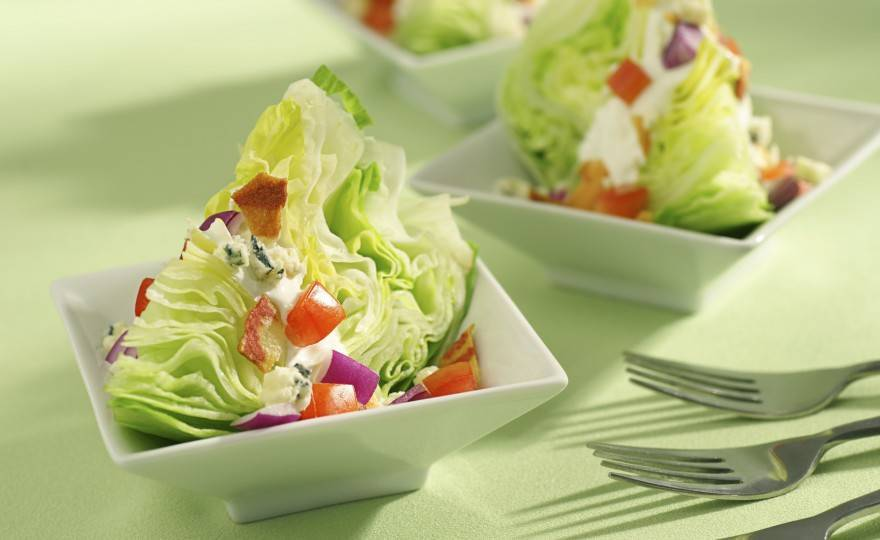 Classic Iceberg Wedge Salad