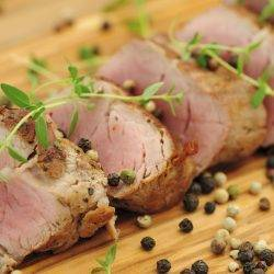 Roast Pork Tenderloin with Apples