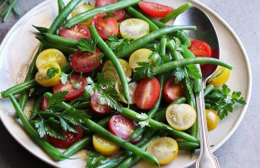French Green Bean & Cherry Tomato Salad