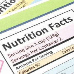 How to Read a Nutrition Label - 3 Must Knows