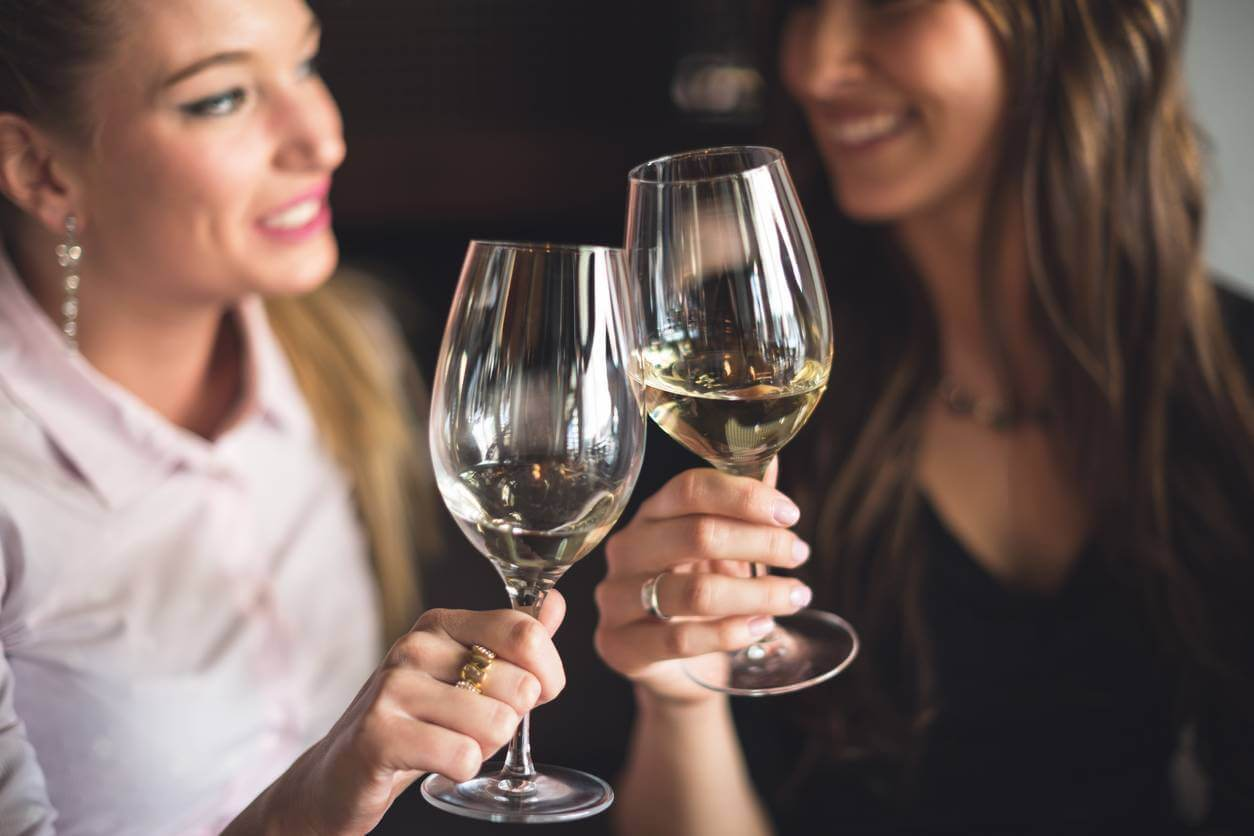 Want Glowing Skin - Don't Drink White Wine